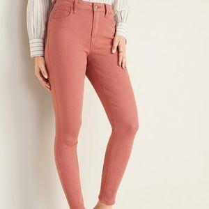Old navy MidRise PopColor Rockstar Jeans size 4